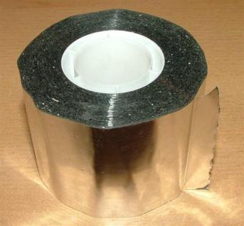 Aluminiumklebeband 50mm x 50m Rolle (Auswahlmöglichkeiten) - Vorschau