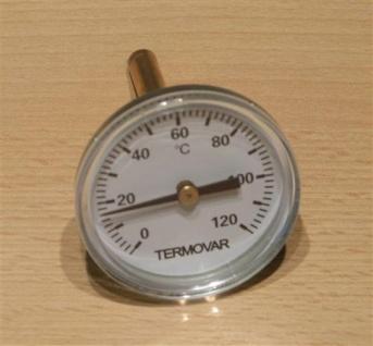 Termovar Thermometer 0-120°C (Auswahlmöglichkeiten) - Vorschau