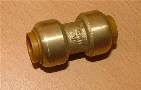 Kupfer Steckfitting Muffe 15mm i/i (Auswahlmöglichkeiten)