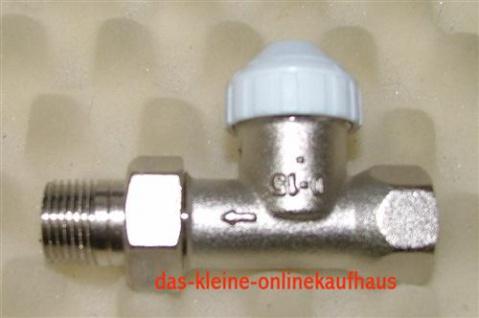 """Thermostatventil / Heimeier Kompatibel 3/8"""" gerade (Auswahlmöglichkeiten)"""