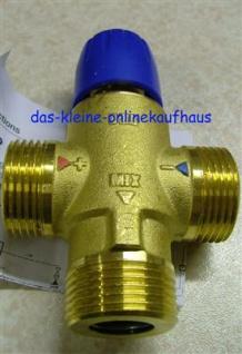 Mischventil 20 - 40°C / 1 Zoll AG / Taconova (Auswahlmöglichkeiten)