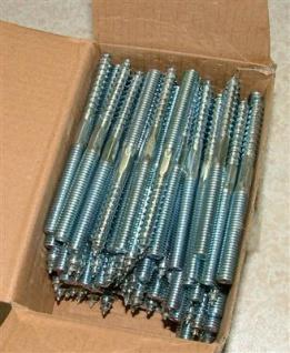 Stockschrauben M10x50 / 100 Stück (Auswahlmöglichkeiten)