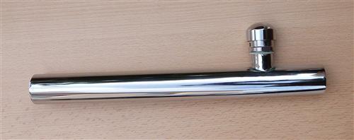 Chromrohr 32mm mit Rohrbelüfter 200mm (Auswahlmöglichkeiten) - Vorschau