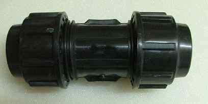 Plast Klemmverbinder Kupplung 16mm x 16mm DVGW zug. (Auswahlmöglichkeiten) - Vorschau