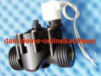 Magnetventil für Gartenbewässerung (Auswahlmöglichkeiten)