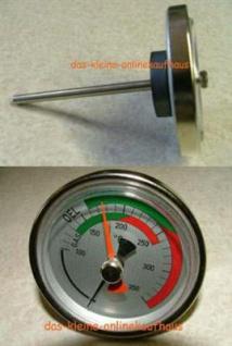 Rauchgasthermometer / Rauchgascontroler mit Orientierungszeiger (Auswahlmöglichkeiten)
