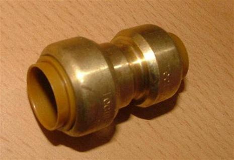 Kupfer Steckfitting Reduziermuffe 18x15 mm i/i (Auswahlmöglichkeiten) - Vorschau