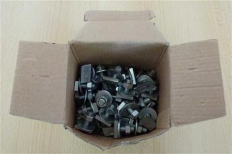 Hammerkopfbefestiger für Montageschiene M 8 x 20 mm für Profil 27/18 + 28/30, 100Stück (Auswahlmöglichkeiten)