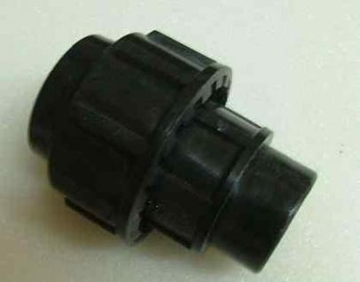 """Plast Klemmverbinder Übergangsmuffe 16 x 1/2"""" IG/ DVGW zug (Auswahlmöglichkeiten)"""