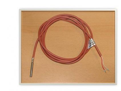 Fühler PT 1000 2m rotes Silikon - Kabel 1Stück (Auswahlmöglichkeiten)