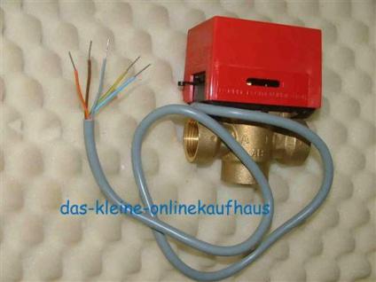 Motorventil Orkli 230V 3 Wege mit Entlagenschalter (Auswahlmöglichkeiten)