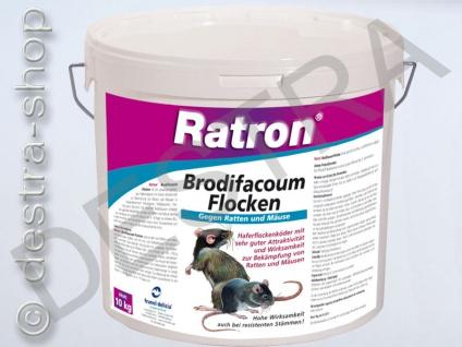 Ratron® Brodifacoum- Flocken 10kg