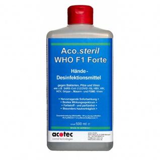 Aco.steril F1 Forte 500 ml Handdesinfektionsmittel
