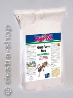 DAVID® Ameisen-frei Streu- und Gießmittel 25kg