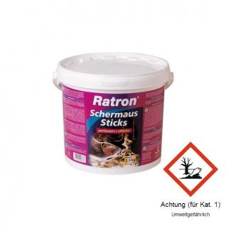 Ratron® Schermaus-Sticks Eimer 2, 5kg
