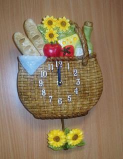 Pendeluhr Picknickkorb, braun