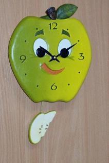 Pendeluhr Grüner Apfel
