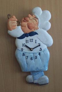 Pendeluhr Koch, blau