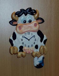 Pendeluhr Kuh - Vorschau