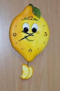 Pendeluhr Zitrone