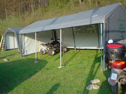 6m x 3, 7m OPEN AIR Combi Unterstand
