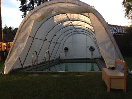 6m x 3, 7m Poolüberdachung - Vorschau 4