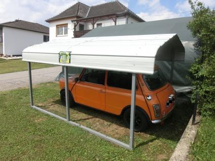 Mobiler stahl CARPORT 3, 7m x6m oder auch länger - Vorschau 2