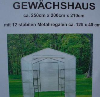 2, 5m x 2m Gewächshaus - Vorschau 5