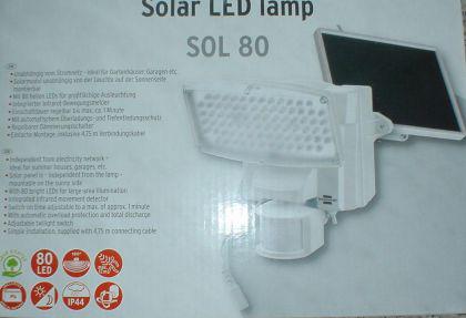 10 bis 80 LED Solar Strahler - Vorschau 3