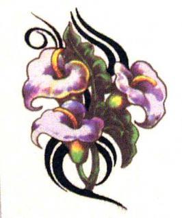 Abziehbild,Motiv Tattoo 40