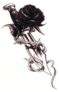 Abziehbild, Motiv Tattoo 58