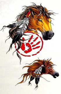Abziehbild, Motiv Tattoo 74
