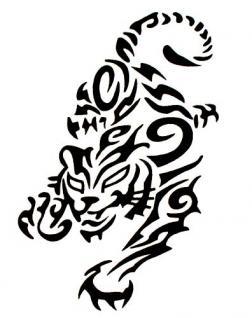 Abziehbild,Motiv Tattoo 94