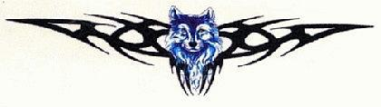 Abziehbild ,Steiß Tattoo 9