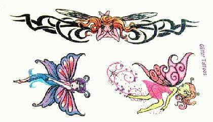 Abziehbild ,Steiß Tattoo 29