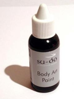 30 ml Airbrush-Farbe, black - Vorschau
