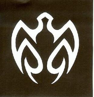 Henna Bodypainting Schablone , Mehndi Motiv 137 - Vorschau