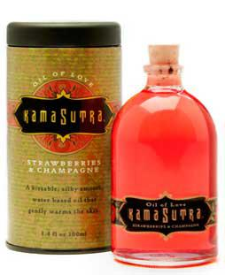 Kamasutra Oil of Love Strawberry Dreams