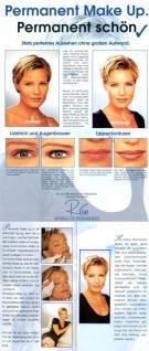 Gutschein für ein Permanent Make up Augenbrauen in Hamburg - Vorschau