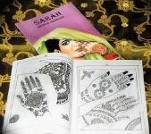 Mehndi-Design-Buch, klein, für Henna Tattoos