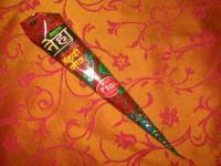 Hennapaste , dunkelrotbraun für Mehndi Tattoos