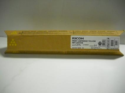 Original Ricoh Toner, Black, Art.-Nr. 841196, 842057, MP C 2550E für Ricoh Aficio MP C 2030, 2550 MFP