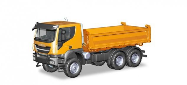 Herpa 309998 Iveco Trakker Baukipper-LKW