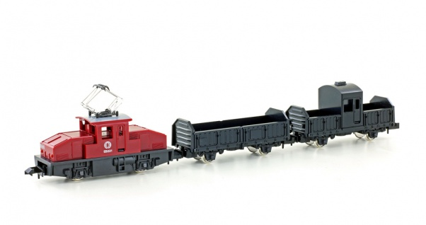 Kato K10504-1 Ellok mit Güterwagen