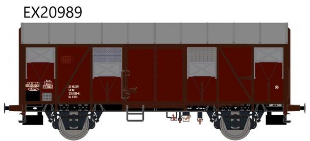 Exact Train EX20989 Güterwagen Gs1210 DR