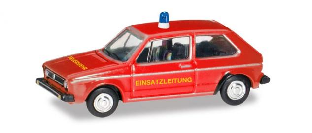 Herpa 066654 VW Golf 1 Feuerwehr - Vorschau 1