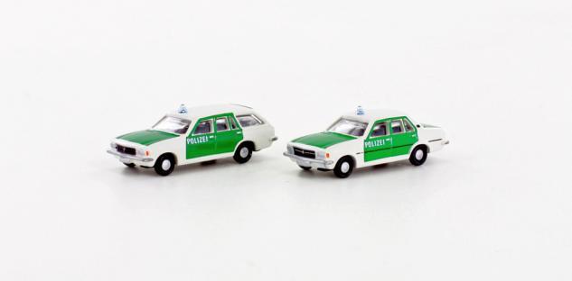 Lemke Minis LC4511 Opel Rekord Polizei