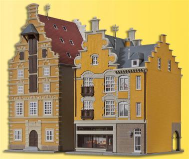 Kibri 37154 Zwei Bürgerhäuser in Tournai