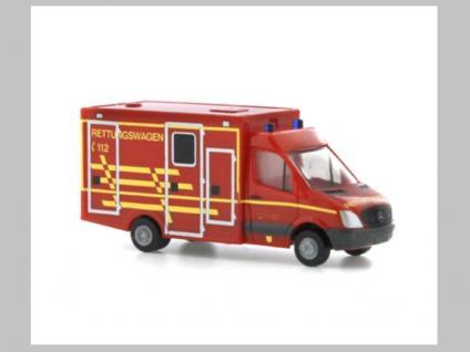 Rietze 16184 WAS Ambulanz RTW Dessau
