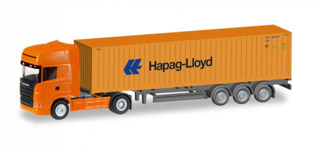 Herpa 066594 Scania Container-Sattelzug